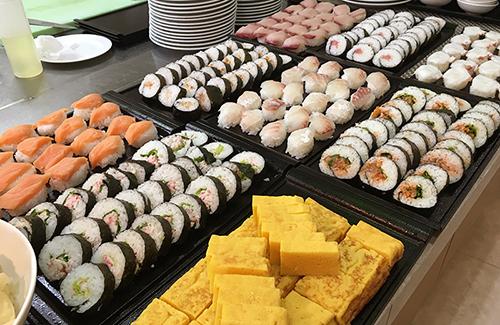 北海道海の幸いっぱい一口寿司