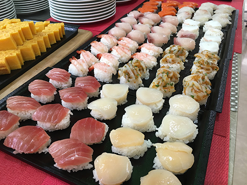 海の幸一口寿司