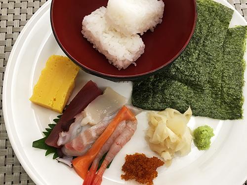 海鮮手巻き寿司