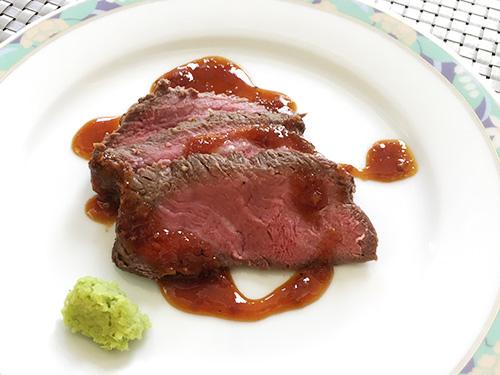 道産牛のローストビーフ
