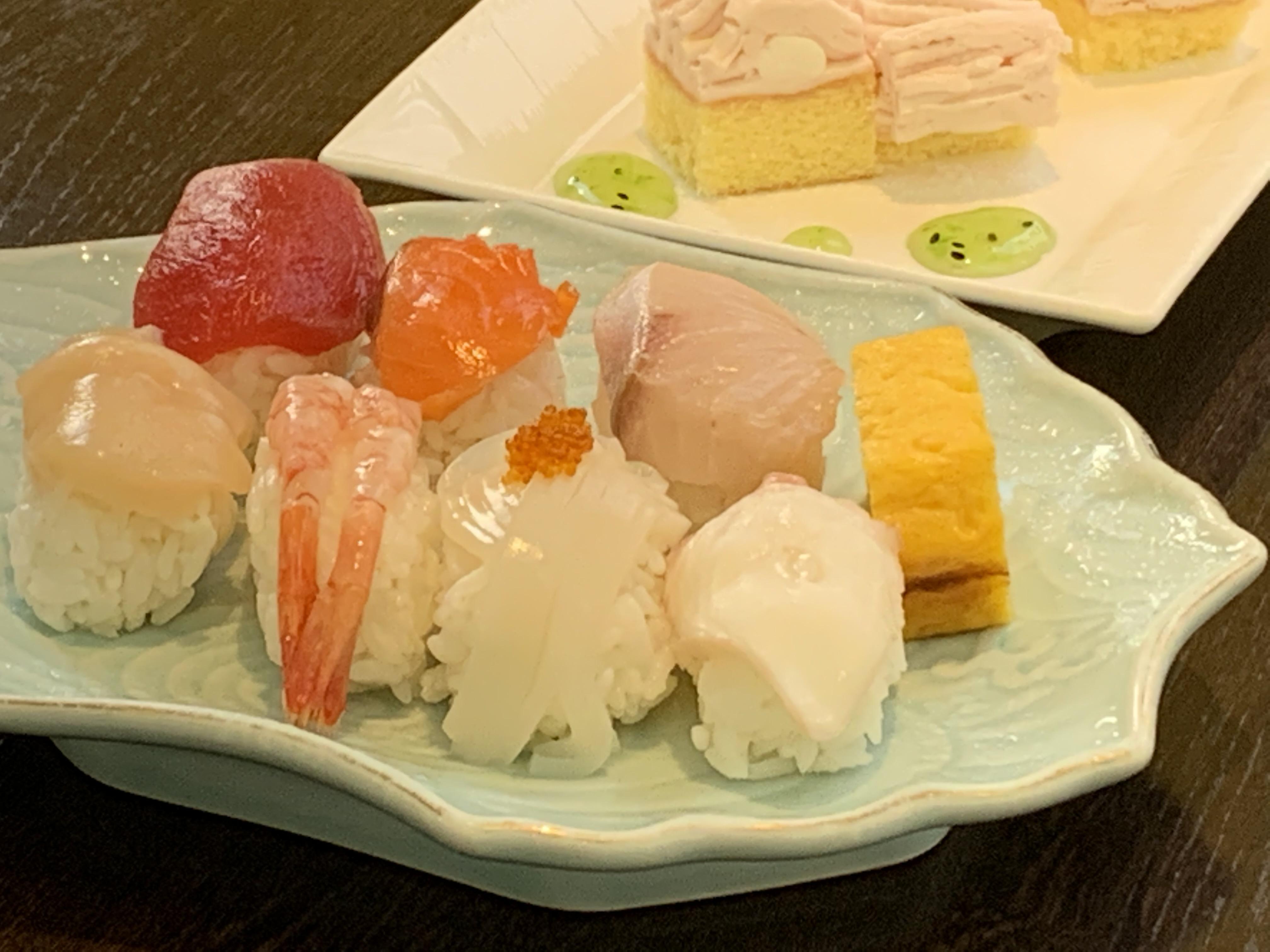 海鮮一口寿司