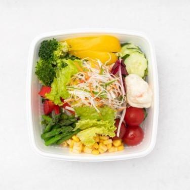 彩り野菜だらけサラダ