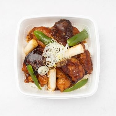 道産若鶏とフォアグラの照り焼き丼